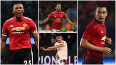 Berikut ini empat pemain Manchester United yang berstatus free transfer jika tidak diperpanjang kontraknya oleh Setan Merah. (Foto Kolase AP dan AFP)
