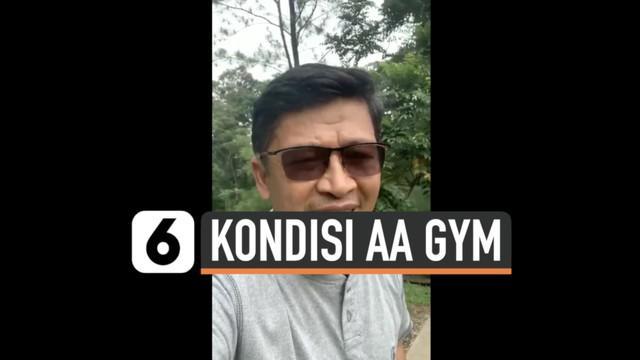 Penceramah Aa Gym dinyatakan terinfeksi Covid-19, setelah 15 hari ia pun sampaikan hasil swab masih positif. Bagaimana kondisinya?