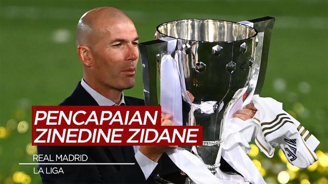 COVER: Cerita Pencapaian Zinedine Zidane di La Liga