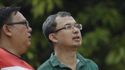 Meski namanya belum terlalu terdengar, Vijaya Fitriyasa ternyata merupakan pemilik dari klub Persis Solo dan Jakarta United. (Bola.com/Vitalis Yogi Trisna)