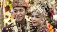 Foto pernikahan M Rasyid Rajasa dan Adara Taista. (Sumber Foto: Instagram/rasyidrajasa)