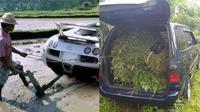 6 Potret Alih Fungsi Mobil untuk Pekerjaan di Sawah Ini Nyeleneh Banget (sumber: Instagram/sukijan.id 1cak)
