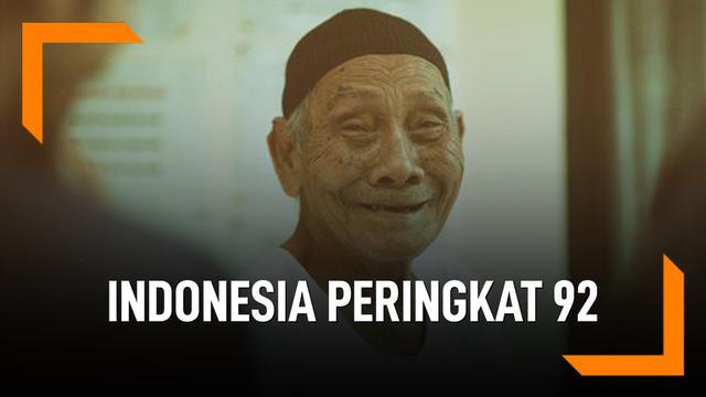 Lumayan, Indonesia Peringkat 92 Negara Paling Bahagia Dunia