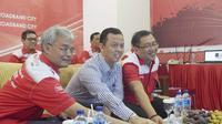 Peresmian Telkom Modern City pertama di Indonesia bertempat di T-Cloud Sukabumi, Jumat (4/8/2017). (Doc: Telkom)