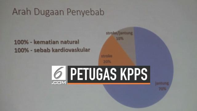 Kajian Lintas Disiplin Universitas Gajah Mada (UGM) merilis hasil riset independen terkait dugaan kematian tidak wajar yang dialami kelompok petugas penyelenggara pemilu (KPPS) 2019 di Daerah Istimewa Yogyakarta (DIY).