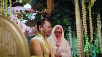 Momen Pengajian dan Siraman Danny Rukmana dan Raiyah Chitra (Sumber: instagram.com/tututsoeharto)