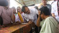 Calon Wakil Gubernur Sumatera Utara Sihar Sitorus. (Liputan6.com/Reza Efendi)