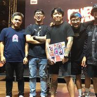Ada sosok spesial yang turut berpartisipasi di album baru Pee Wee Gaskins. (Dok Universal Music Indonesia)