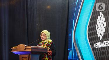 Menteri Ida Fauziyah Luncurkan Satu Data Ketenagakerjaan