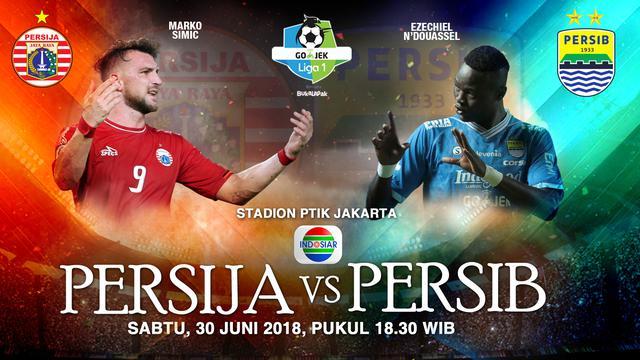 Streaming Persib: Live Streaming Persija Jakarta Vs Persib Bandung Di