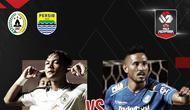 Piala Menpora 2021: Duel Saddam Emiruddin Gaffar vs Wander Luiz. (Bola.com/Dody Iryawan)