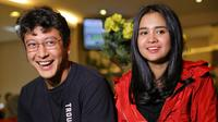Dimas Anggara dan Michelle Ziudith. (Adrian Putra/Bintang.com)