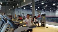 Melati Daeva Oktavianti berpose di sela-sela latihan tim bulutangkis Indonesia jelang Olimpiade Tokyo 2020. (Dokumentasi PBSI)