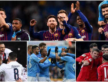 klub pendapatan terbanyak 2019