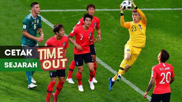 Berita video Time Out kali ini tentang Korea Selatan (Korsel) yang mencetak sejarah di Piala Dunia 2018.