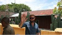 Forrest Galante saat menyapa jurnalis di Kantor BKSDA Sulteng, Selasa (10/3/2020). (Liputan6.com/Heri Susanto).