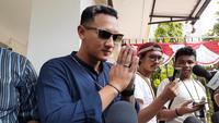 Putra Nunung Srimulat, Bagus Permadi, di Polda Metro Jaya, Sabtu (20/7/2019). (Merdeka.com/Hari Ariyanti)
