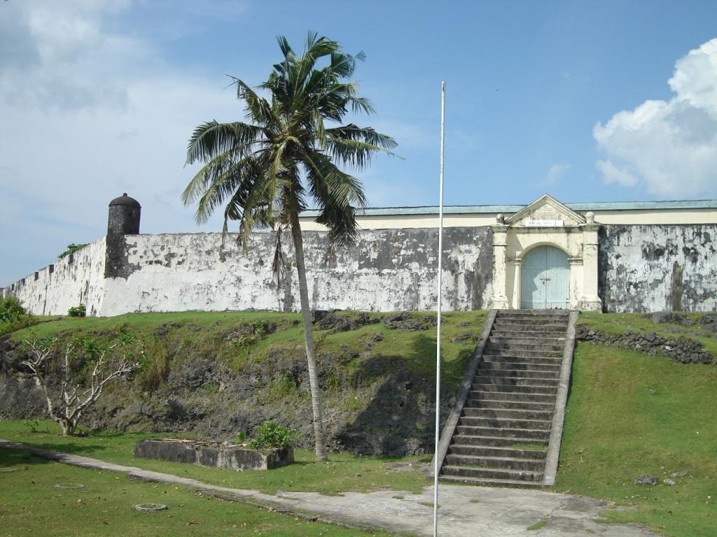 Benteng Duurstede di Pulau Saparua, Maluku. (kemdikbud.go.id)