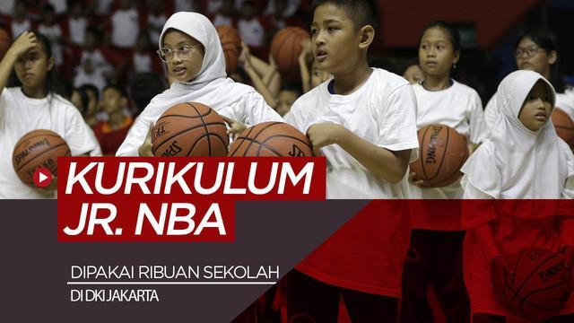 Berita video Pemda DKI Jakarta bekerja sama dengan NBA soal penggunaan kurikulum Jr. NBA di 3.100 sekolah yang tersebar di Jakarta.