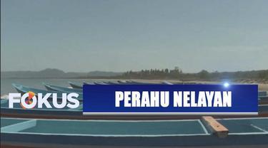 YPP SCTV-Indosiar menyalurkan bantuan dari pemirsa ke nelayan di Kecamatan Sumur, Pandeglang.