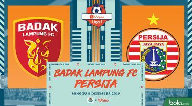 Badak Lampung FC Vs Persija Jakarta