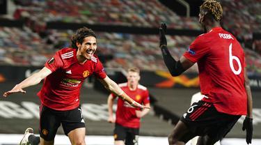 FOTO: Manchester United Bantai AS Roma 6-2 di Old Trafford