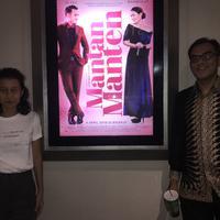 Produser Kori Andyaning dan Sutradara Farishad Latjuba (Puput Puji/Fimela.com)