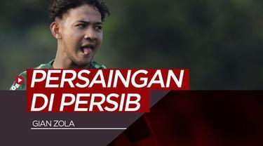 Berita video gelandang Gian Zola kembali berlatih bersama Persib Bandung dan ia bicara soal persaingan di tim inti.