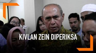 Mantan Kastaf Kostrad Kivlan Zein penuhi panggilan polisi., Kivlan dipanggil sebagai saksi terkait kasus dugaan makar. Mantan Kastaf Kostrad ini datang ke Mapolda Metro Jaya didampingi oleh pengacaranya.