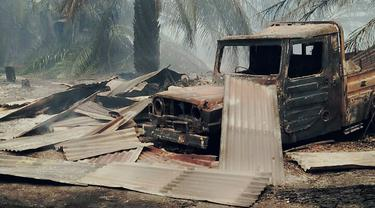 900 Hektare Lahan Gambut di Rokan Hilir Hangus, Ribuan Warga Hirup Asap
