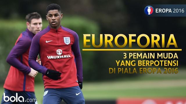 Berikut 3 pemain muda yang akan meledak di Piala Eropa 2016
