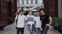 Maia Estianty bersam Al, El, dan Dul (Instagram/@maiaestiantyreal)