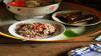 Lawa Jantung Pisang, makanan khas Sulsel bisa jadi menu sahur (Liputan6.com/ Eka Hakim)
