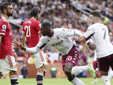 Foto: Bruno Fernandes Gagal Manfaatkan Voucher Penalti, Manchester United Dipermalukan Aston Villa