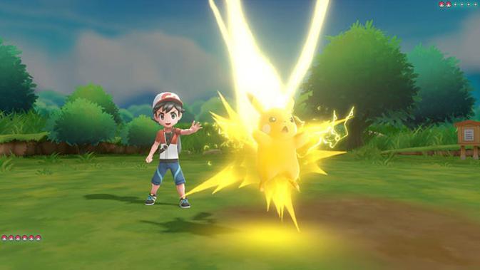 Pokemon Let's Go Eevee dan Pikachu tembus rekor penjualan gim di Nintendo Switch. (Doc: Nintendo Switch)