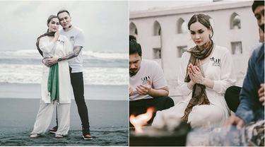 Potret Sara Wijayanto Berkunjung ke Yogyakarta
