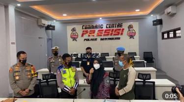 Wanita yang viral memaki polisi saat diputar balik di Sukabumi minta maaf
