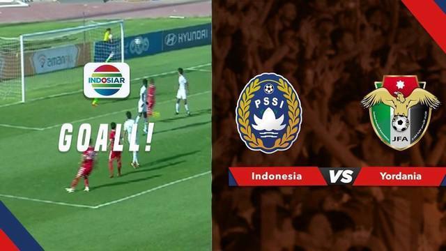 Berita video momen gol indah Yordania saat menghadapi Timnas Indonesia dalam laga persahabatan FIFA Matchday di Amman, Selasa (11/6/2019).