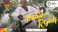 Garuda Kita Asian Games Abdul Rojak (Bola.com/Foto: Vitalis Yogi /Grafis: Adreanus Titus)