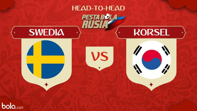 Berita video head-to-head Piala Dunia Rusia 2018: Swedia vs Korea Selatan.