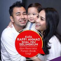 Kata Raffi Ahmad Soal Isu Selingkuh dan Rencana Punya Anak Lagi. (Foto: Nurwahyunan, Desain: Nurman Abdul Hakim/Bintang.com)