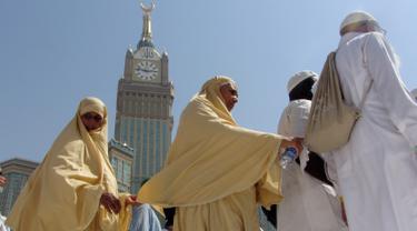Jemaah Jelang Puncak Ibadah Haji