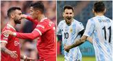 Berikut ini lima pasang pesepak bola top dunia yang ternyata main bersama baik di timnas maupun klub. Dua diantaranya Duet Cristiano Ronaldo - Bruno Fernandes dan Lionel Messi dengan Angel Di Maria.