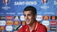 Alvaro Morata. REUTERS/UEFA/Handout via REUTERS NO SALES.