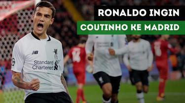 Legenda Brasil, Ronaldo da Lima lebih menyukai Philippe Coutinho ke Real Madrid daripada ke Barcelona.