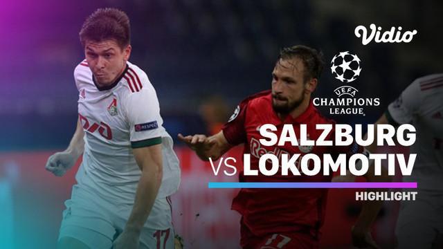 Berita Video RB Salzburg imbang melawan Lokomotiv Moscow 2-2 di matchday pertama Liga Champions