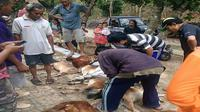 Peternakan kambing  di Gunung Kidul, Daerah Istimewa Yogyakarta, di kagetkan dengan ternak kambingnya yang mati secara misterius