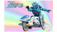 Gambar pahlawan super berkursi roda Gandeen (Tangkapan Layar NHK)