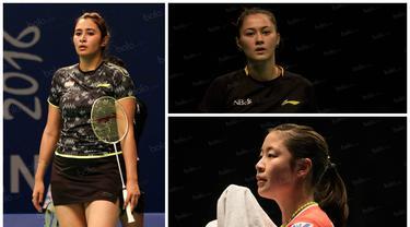 Berikut Gronya Somerville dan sembilan pebulutangkis cantik yang mewarnai ajang BCA Indonesia Open 2016. (Bola.com)