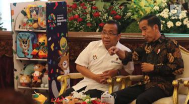 Jokowi Ajak Artis dan Vlogger Demamkan Asian Games 2018